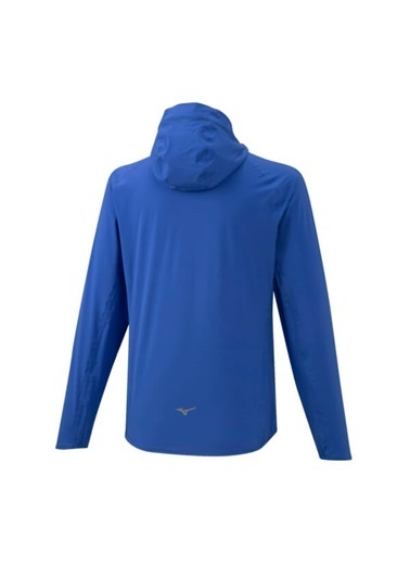 Mizuno 20K Er Jacket Erkek Yağmurluk Mavi Mavi
